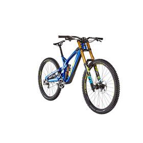 GT Bicycles Fury Team gloss metallic blue/yellow/cyan